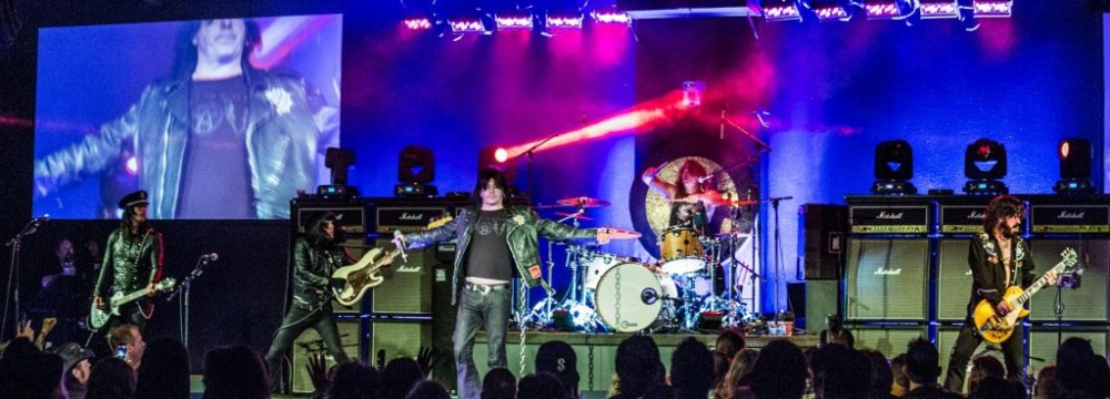LA Guns at House of Rock